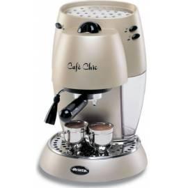 Espresso ARIETE-SCARLETT Chic 1377 beige Bedienungsanleitung
