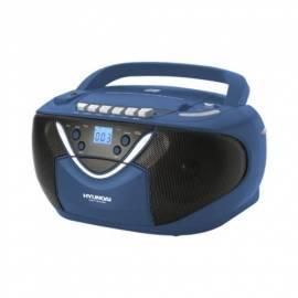Service Manual HYUNDAI TRC718AU3B CD Radio Kassette mit blau