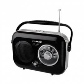 Radio HYUNDAI Retro PR 100 schwarz - Anleitung