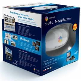 Datasheet Videoschnitt PINNACLE STUDIO MovieBox PLUS, USB-Videobearbeitung + Studio Ultimate (8230-10026-11)