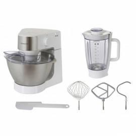 Küchenmaschine KENWOOD Prospero KM 260 weiß/rostfreier Stahl/Metall/Kunststoff - Anleitung