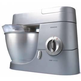 Bedienungshandbuch Küchenmaschine KENWOOD KMC 560 Chef Metall/Glas