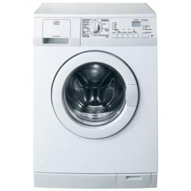 Handbuch für Waschmaschine AEG-ELECTROLUX LS 62840 L weiß