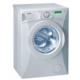 Benutzerhandbuch für Waschmaschine GORENJE WS 53100, exklusive, Pure white