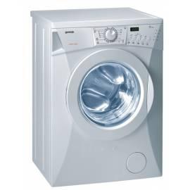 Datasheet Waschmaschine GORENJE WS 52105, exklusive, Pure white