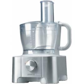 KENWOOD MultiPro Küchenmaschine FP 910 Silber/Edelstahl Gebrauchsanweisung