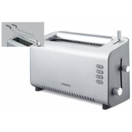 KENWOOD Toaster TTM 312-Edelstahl Gebrauchsanweisung