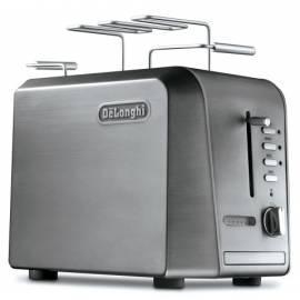 Benutzerhandbuch für Toaster DELONGHI Super Mario CTH Silber 2023