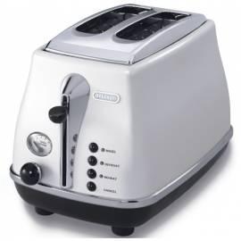 Bedienungsanleitung für DELONGHI Icona CTO 2003W weiß Toaster