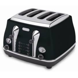Datasheet Toaster DELONGHI Icona CTO 4003BK schwarz
