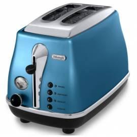Bedienungshandbuch Toaster DELONGHI Icona CTO 2003 b blau