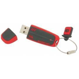 Datasheet USB-Flash-Laufwerk-8 GB schwarz/rot EMGETON Aeromax