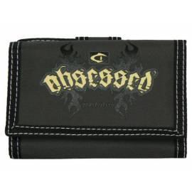 Geldbörse OBSESSED 3071-E schwarz/graue Farbe