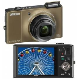 Digitalkamera NIKON Coolpix S8000 braun - Anleitung