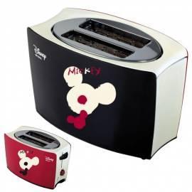 Toaster: ARIETE Disney SCARLETT 126 schwarz/rot - Anleitung