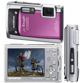 Benutzerhandbuch für Digitalkamera OLYMPUS Mju Tough 6020 pink