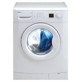 Bedienungsanleitung für Waschmaschine BEKO WMD65126 weiß