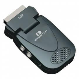 Bedienungsanleitung für DVB-T Receiver SCART Vision3 EMGETON schwarz