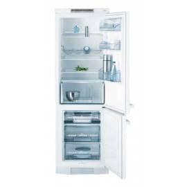 Benutzerhandbuch für Kombination Kühlschrank mit Gefrierfach AEG-ELECTROLUX Santo 70312 KG