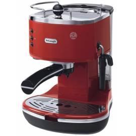 Handbuch für Espresso DELONGHI ECO 310 R rot Symbol