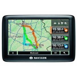 Navigationssystem GPS NAVIGON 3310 max CE schwarz Bedienungsanleitung