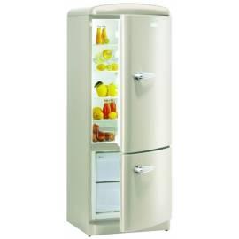 Kombination Kühlschränke mit ***-Gefrierfach RK GORENJE 6285 OC cremig Bedienungsanleitung