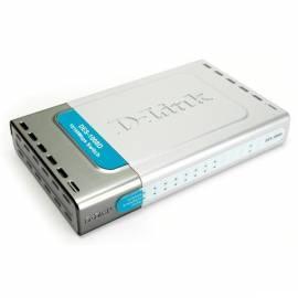 Benutzerhandbuch für NET-Steuerelemente und WLAN D-LINK DES - 1008D silber