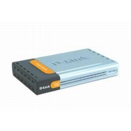 Bedienungsanleitung für NET-Steuerelemente und WLAN D-LINK DGS - 1005D silber