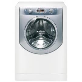 Bedienungsanleitung für Waschmaschine mit Trockner Trockner HOTPOINT-ARISTON AQM8F 49 U (EU) silber/weiss
