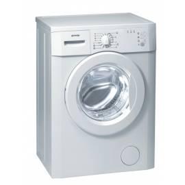 Bedienungshandbuch Waschmaschine GORENJE WS 50125 weiß
