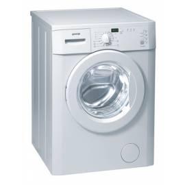 Service Manual Waschmaschine GORENJE WA 60149
