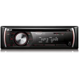 Bedienungsanleitung für CD-Autoradio mit der LG-LCS300AR-schwarz