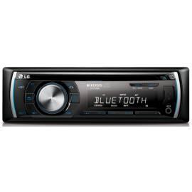 Datasheet CD-Autoradio mit der LG LCS700BR schwarz