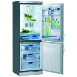 Bedienungsanleitung für Kombination Kühlschränke mit Gefrierfach GORENJE RK 6333 E Edelstahl