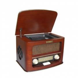 Benutzerhandbuch für Radio mit CD HYUNDAI Retro RETRO RC606 Brown/Holz