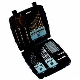 Werkzeug set BOSCH 45pcs Titan gemischt schwarz/Titan - Anleitung