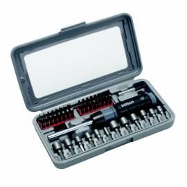 Bedienungsanleitung für 46pcs BOSCH Schraubendreher Werkzeug set Metall/Kunststoff