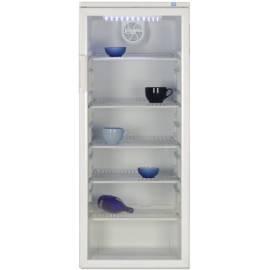 Bedienungsanleitung für Kühlung Schaufenster BEKO WSA24080 weiß/Glas