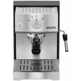 Bedienungshandbuch Espresso KRUPS XP524030 schwarz/rostfreier Stahl/Metall/Kunststoff/Aluminium