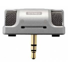 Bedienungsanleitung für Mikrofon OLYMPUS ME-53SS Silber