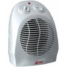 Datasheet Hot Air Fan ARDES 452 weiss