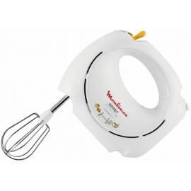 MOULINEX ABM141E Blender, Schneebesen EASYMAX weiß/rostfreier Stahl/Metall/Kunststoff Bedienungsanleitung