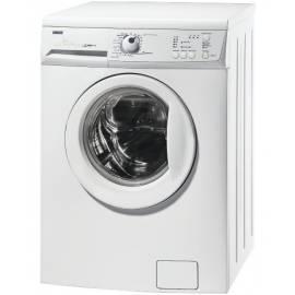Waschmaschine ZANUSSI ZWG5105-weiß Gebrauchsanweisung