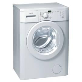 Waschvollautomat GORENJE Classic WS 50109 weiß Bedienungsanleitung