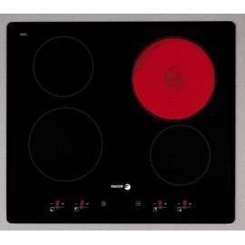 Keramik Glas Kochfläche FAGOR-2VFT-400AS-schwarz - Anleitung