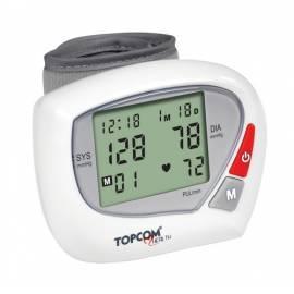 Datasheet TOPCOM BPM Wrist 2000-Barometer (5411519011619), weiß