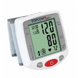 Handbuch für Luftdruck TOPCOM BPM Wrist 5331 (5411519010599) weiß