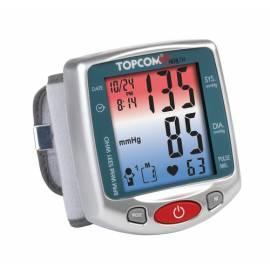 Luftdruck TOPCOM BPM Wrist 5331, (5411519011008) Silber Gebrauchsanweisung