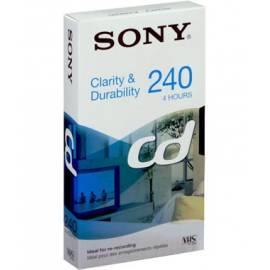 Bedienungsanleitung für SONY Recording Media E240CD