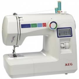 Bedienungshandbuch AEG 225 Nähmaschine weiß